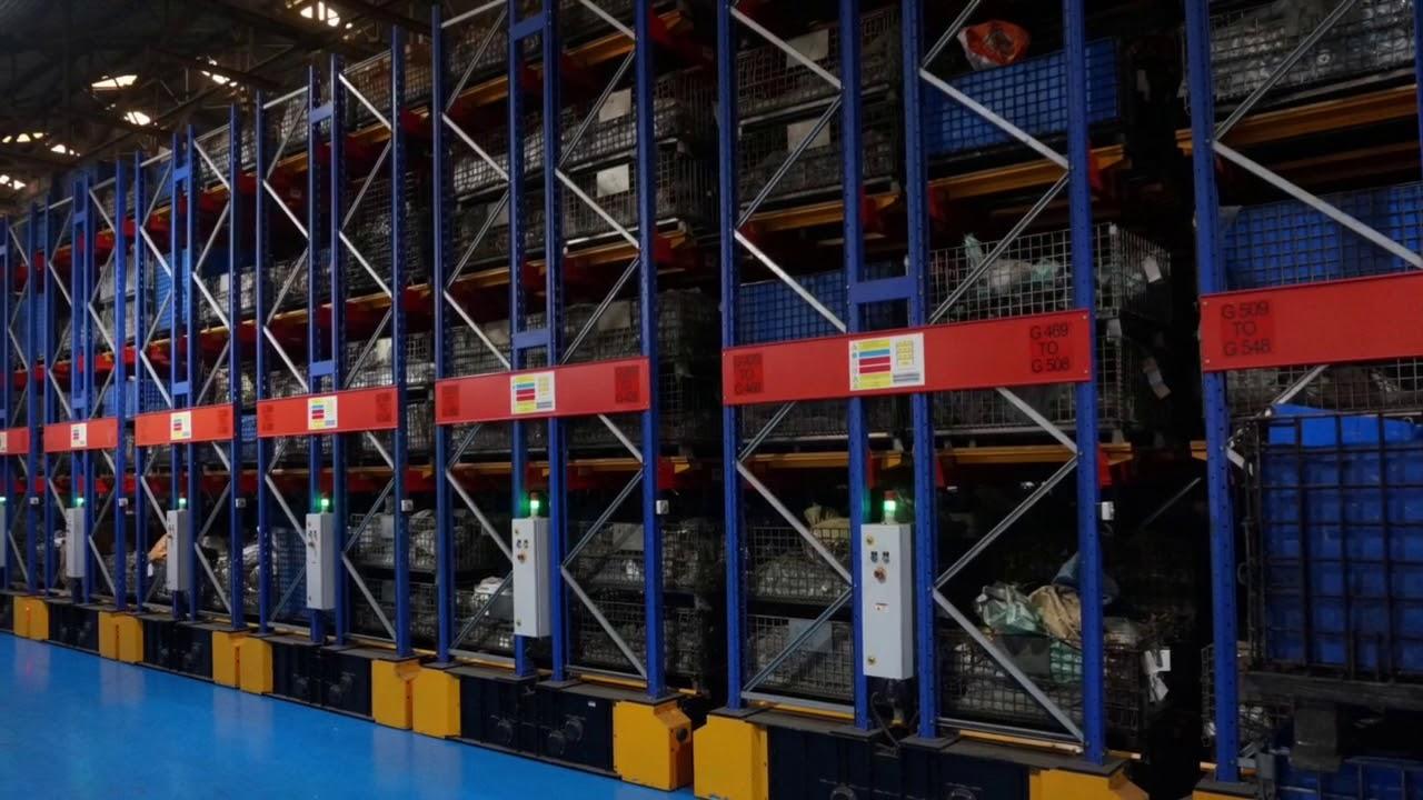 Mobile Pallet Racking - Jay Storage Solutions Pvt Ltd