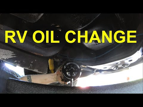 How-To Change the Oil in Your Rv