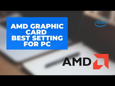 AMD Radeon Graphics card BEST SETTING FOR GAMEPLAY AND PERFORMANCE  PC/LAPTOP  (100000% WORKING)