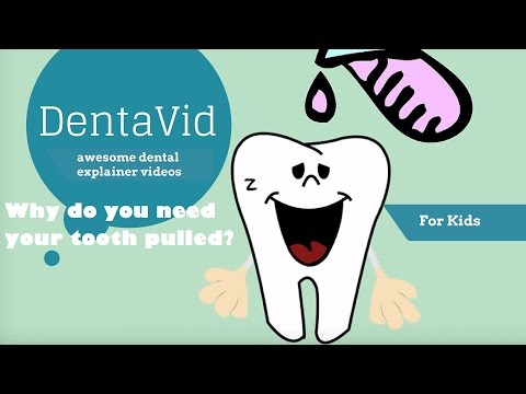 Getting a tooth pulled for children - Why do you need your tooth pulled?