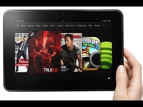How to take a screen shot on the kindle Fire HD