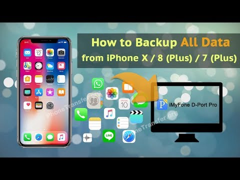 How to Backup All Data from iPhone X / 8 (Plus) / 7 (Plus)