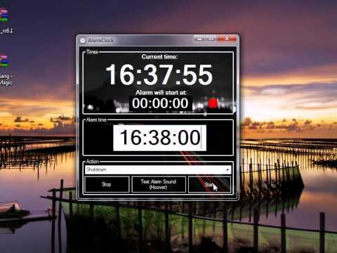 VB.NET AlarmClock Preview