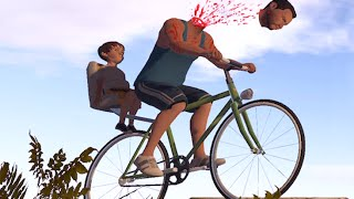 【DE Jun】快樂輪子3D!? (HAPPY WHEELS - Guts and Glory)膽量與榮耀!!!
