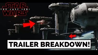 The Last Jedi Trailer Breakdown & Analysis (Things you Missed in the Episode 8 Trailer)