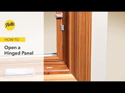 Opening Hinged Panel