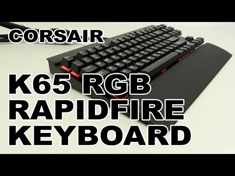 Corsair K65 RGB RAPIDFIRE Compact Mechanical Gaming Keyboard Review