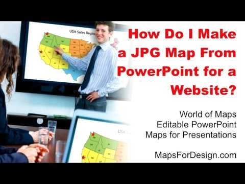 How to Convert a PowerPoint Slide into a JPG Graphic for Your Web Site • MapsForDesign.com