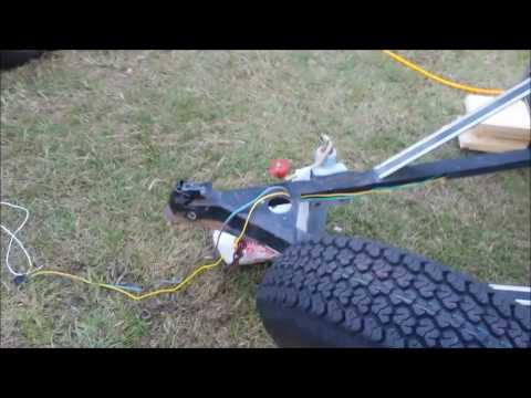 Replace utility trailer deck using jack