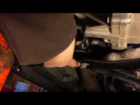 How To Replace Rear Engine Mount 2008 Toyota Yaris Sedan