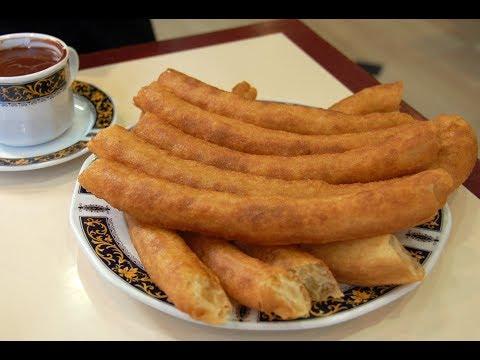 how to make homemade churros!  guide!  taste!  tasty!  recipes