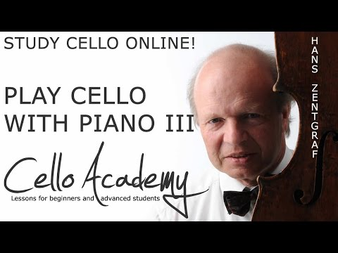 Learn to Play Cello Online   PlayWithPiano III :