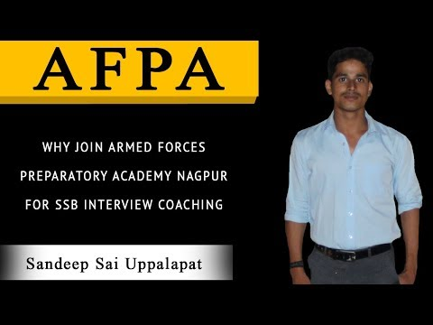 WHYJOIN ARMED FORCES PREPARATORY ACADEMY NAGPUR FOR SSB INTERVIEW COACHING