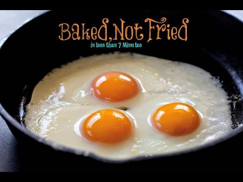 How to Fry Eggs in the Oven: Sunny Side Up Baked Eggs