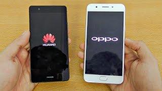 Oppo F1s Vs Huawei P9 Lite Speed Test 4k