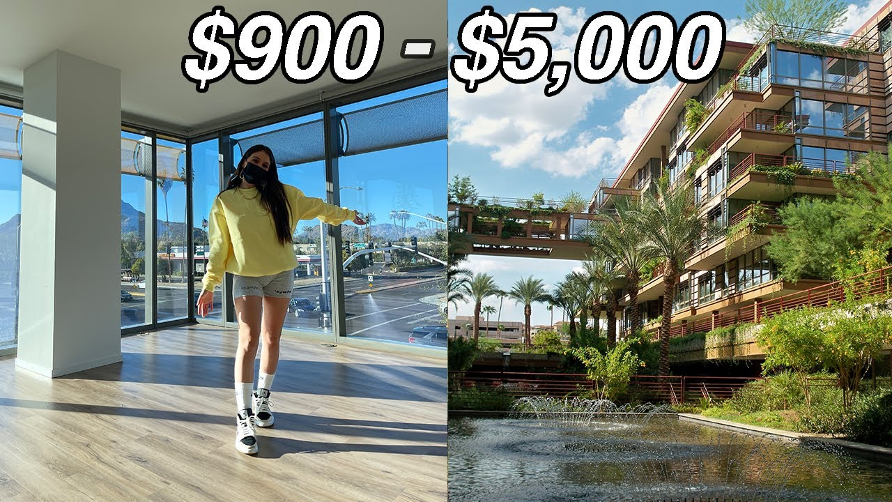 APARTMENT SHOPPING!! what $5000 gets you in Arizona