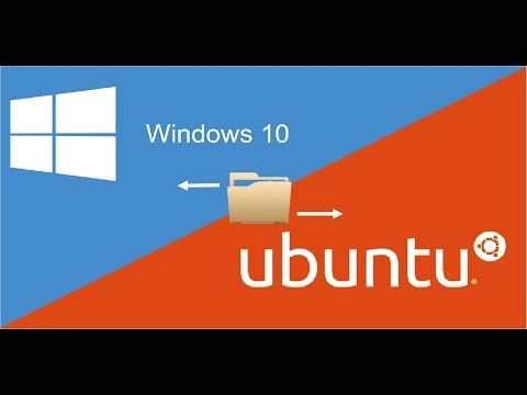 How to share files between Windows 10 and Ubuntu Linux subsystem (Windows 10 Anniversary)