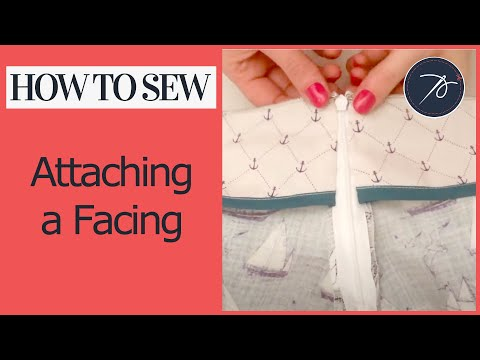 How to Attach a Facing