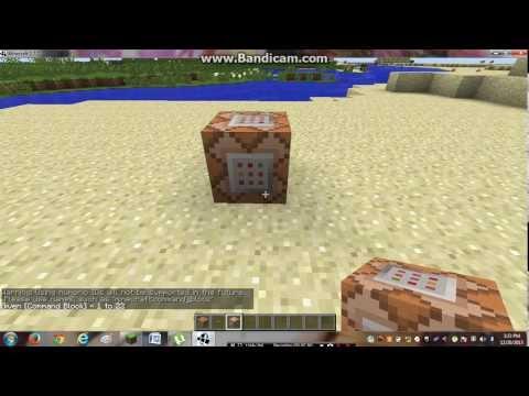MINECRAFT TUTORIAL:MINECRAFT COMMAND BLOCK AND MOB SPAWNER!