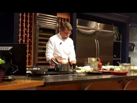 How to cut Cilantro. Chef Rick Bayless shows you how at Macy's Culinary Studio