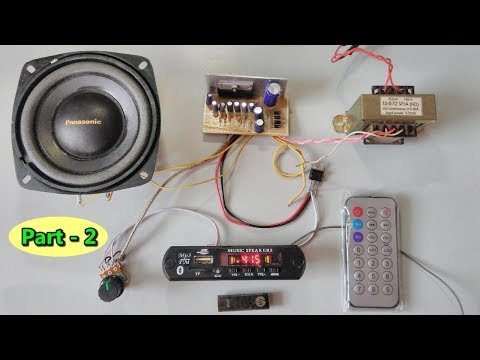 Xxx Mp4 Bluetooth SD Card AUX FM Radio Mp3 Player Module With Amplifier Assembling Part 2 3gp Sex