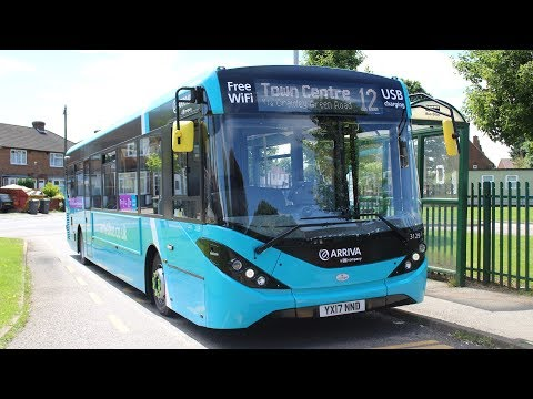 FIRST DAY IN SERVICE!   Arriva The Shires   ADL E200MMC   12 to Stopsley   3129 (YX17NND)