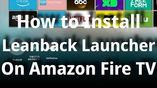cara merubah launcher biasa ke leanback launcher TV Box