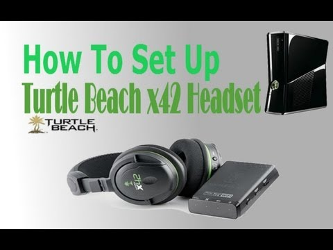 How To Set Up Turtle Beach x42 Headset