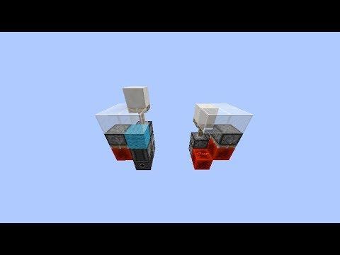 Smallest Flush w/ Floor Torch Key 1.11+ | 12 Blocks