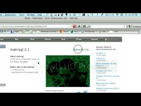 How to get more screensavers for mac