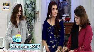 Good Morning Pakistan - Dr. Umme Raheel & Dr. Batool Ashraf - 22nd January 2019 - ARY Digital Show