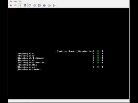Linux Centos 6.6 On VMware Esxi