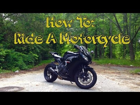 How To Ride A Motorcycle: Beginner Series Part 1 - Basic Controls / Using A Clutch