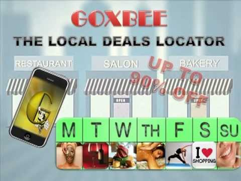 Goxbee- Local Coupon Deals For You! The Right Way With A Free APP!