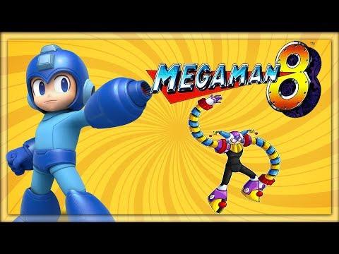 Mega Man 8 - Clown Man's Stage (Wide Screen 1080p) Xbox 1/PS4