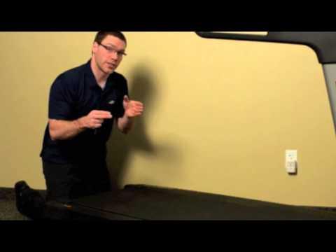 Adjust Walking Belt Tension