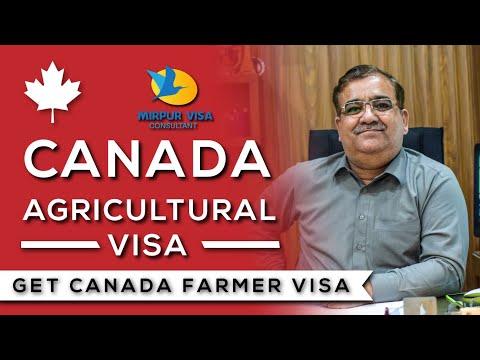 Canada Farmer Visa