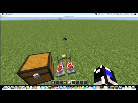 How to make instant health potions in minecraft 1 6 2