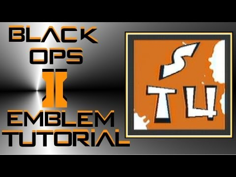 Call of Duty Black Ops 2 : Graffiti Writing Emblem Tutorial (Letters STU)