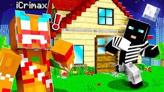 EINBRECHER in meinem HAUS in Minecraft RP!