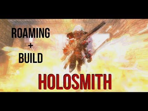 GW2 | Holosmith WvW SOLO ROAMING + BUILD
