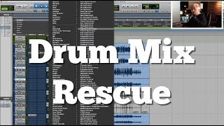 Drum Mix Rescue | How To Fix Badly Recorded Drums
