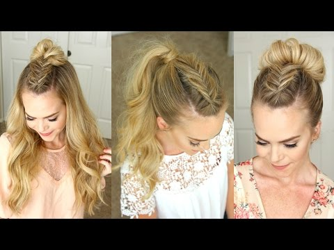 Dutch Fishtail Mohawk Braid | Missy Sue