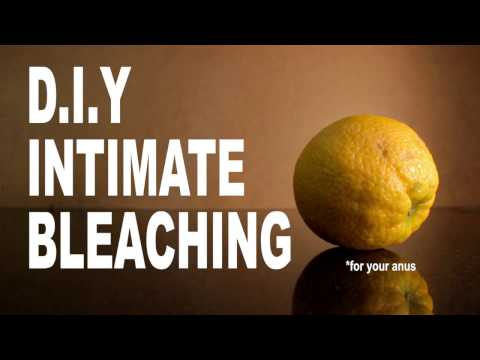 How To Bleach Your Anus - DIY Anal Bleaching At Home