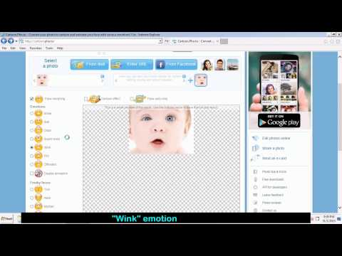 How To Make Face Animation (Face Morphing)  With Single Photo
