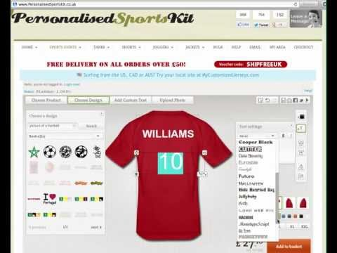 Design Your Own Football Kit Online - Football Shirt Printing and Custom Sportswear
