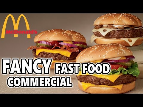 If McDonald's Ads were for Rich People | Fancy Fast Food Commercials #1
