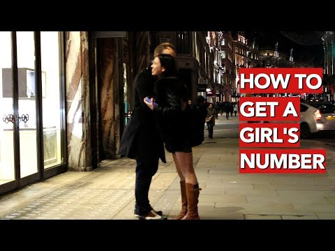 How to get a girl's number? Infield Completion