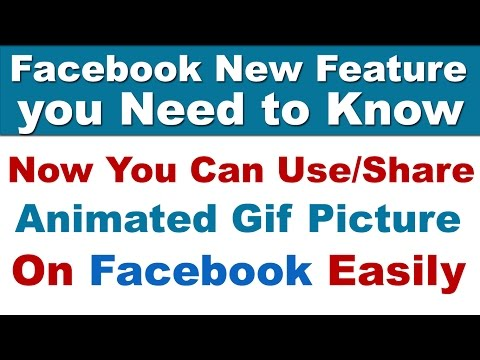How To Use/Share Animated GIF Picture On Facebook | New Feature In Facebook Chat