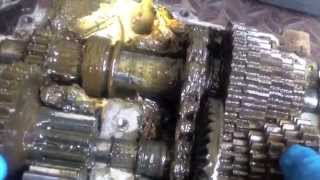 Cleaning / Converting grease filled Spicer Transmission to oil